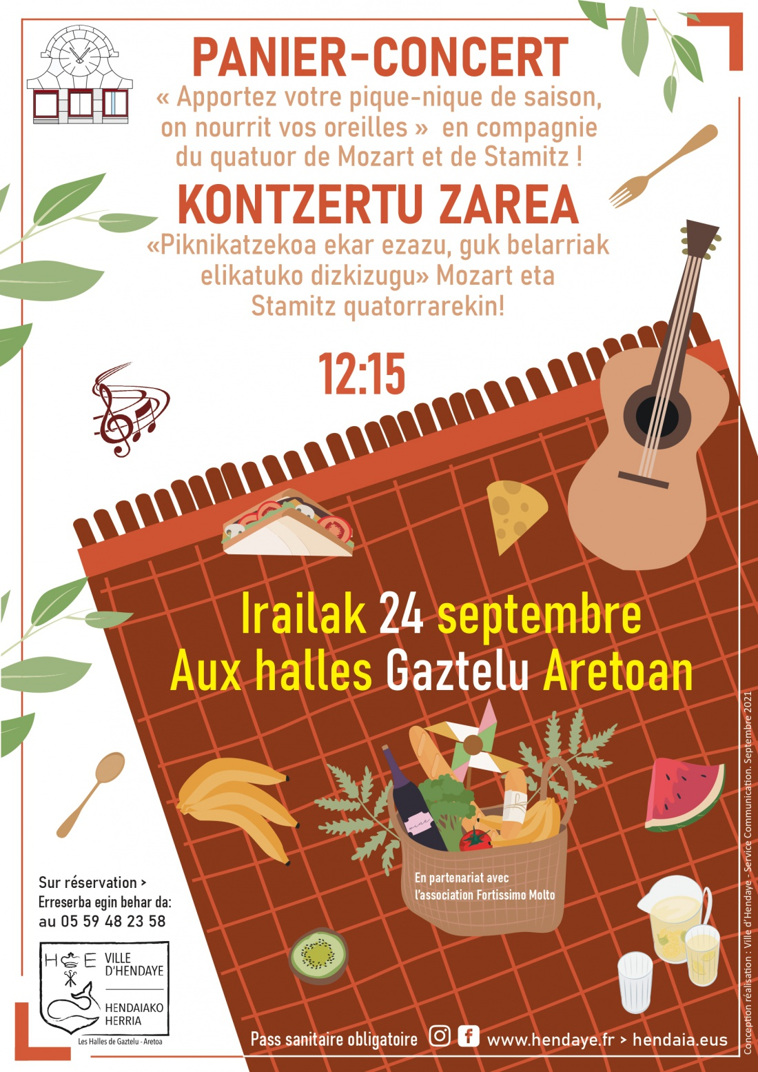 Panier-concert