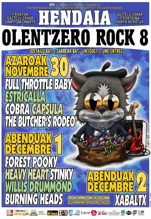 8ème Olentzero rock