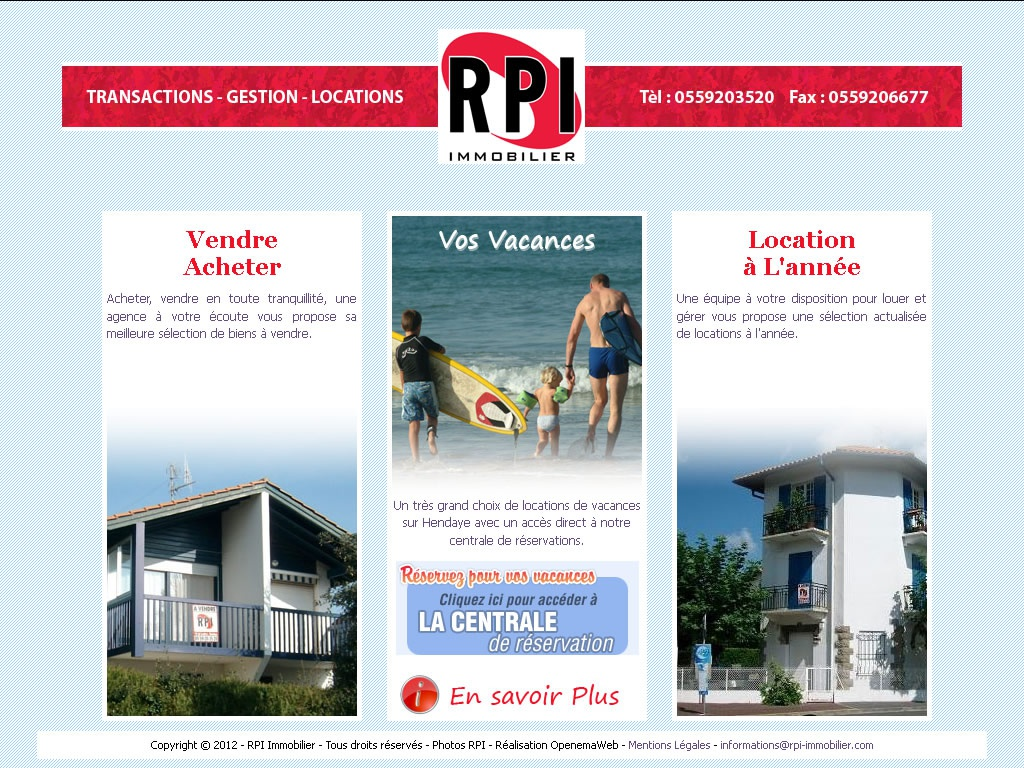 R.P.I. Immobilier - Vue 1