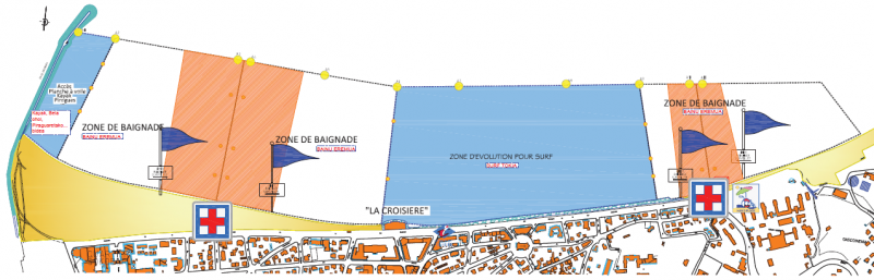 Swimming area - Hendaye Tourism