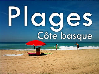 Application mobile plages Côte Basque
