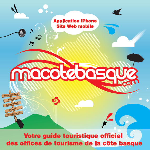 Application mobile Ma Côte Basque